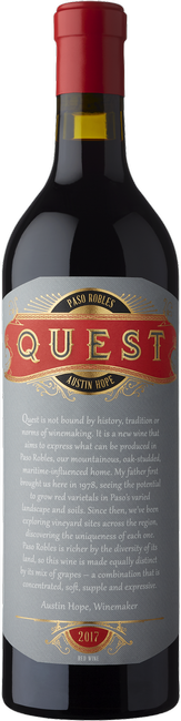 2017 Quest Cabernet Bordeaux Blend